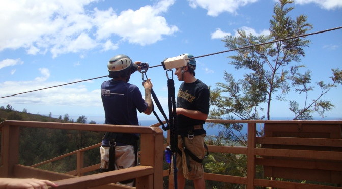 Outdoor Adventures in Maui: Ziplining